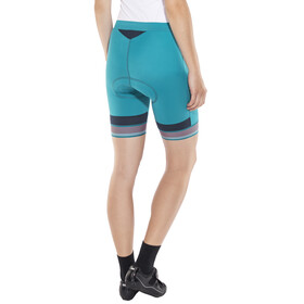 Odlo Fujin Tights Shorts Women crystal teal